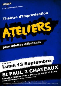 Affiche Ateliers 21.22