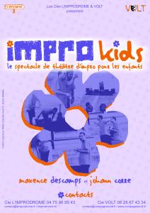 Affiche Impro-Kids sans bandeau