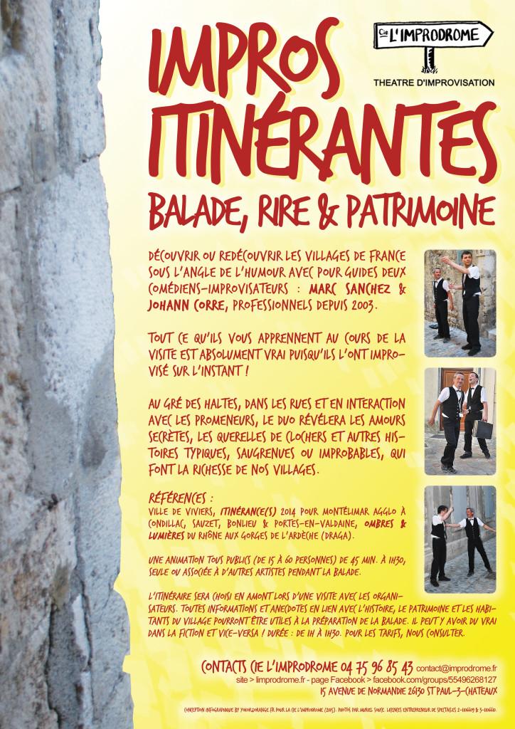 Impro Itinerantes 2015 p2 Presentation